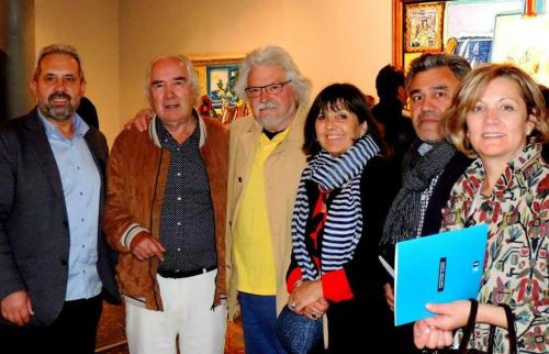 Con Xosé Vázquez Castro e Xosé Mª Barreiro.