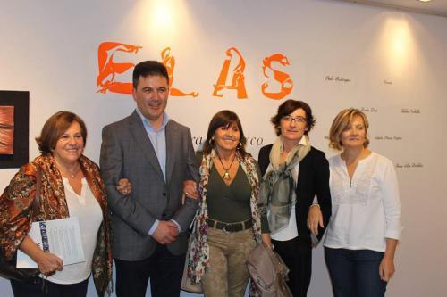 Con Aurora Marcos, J.M.Calviño, Irene Silva y M. Xesús Diaz