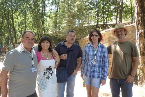 Con J.A.Regidor,Alberto Fdez Escudero y Carmen Hermo