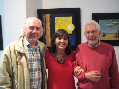 Con J. Mª Barreiro y Rafael Úbeda