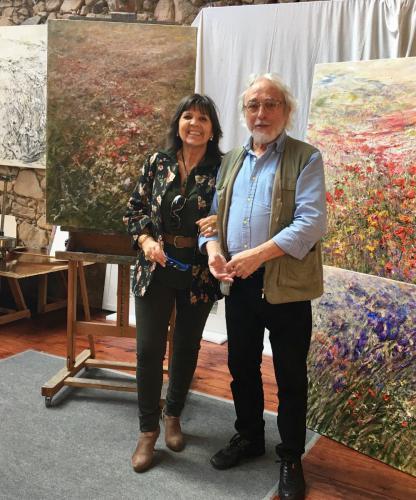 Con Joan Malaret