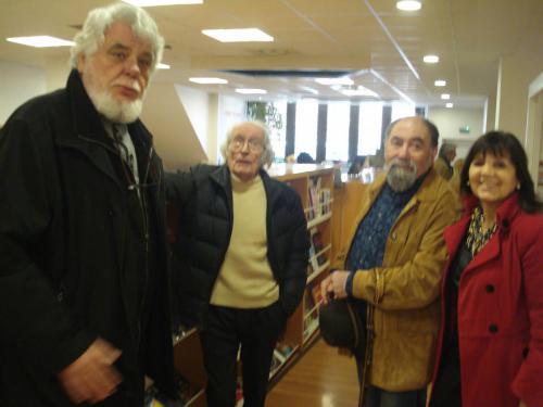 Con Josep Ministral, S.M.Felez y Jordi Gispert