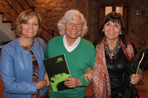 Con Lluís Roura y Alba Roqueta