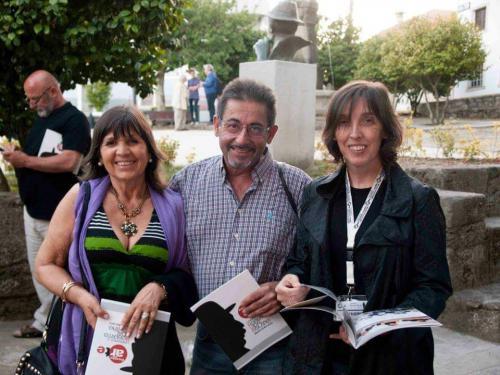 Con Luís Romero y Carmen Hermo