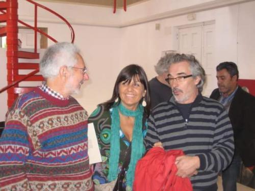 Con Rafael Úbeda y Morquecho