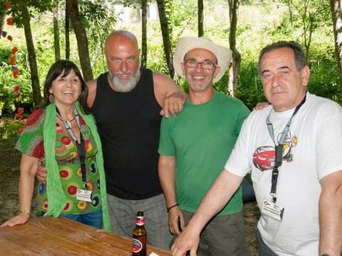 Con Rilo, José Galarzo y J.A.Regidor