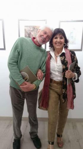 Con Rafael Úbeda