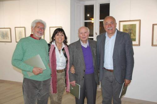 con Rafael Úbeda, Manuel Ayaso y José Luís García